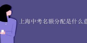 上海中考名额分配是什么意思插图