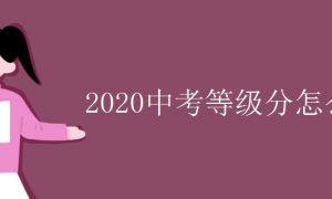 2020中考等级分怎么算插图